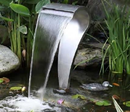 The Cobra pond fountain